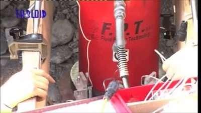 FPT idraulica ad alta pressione prove su pali