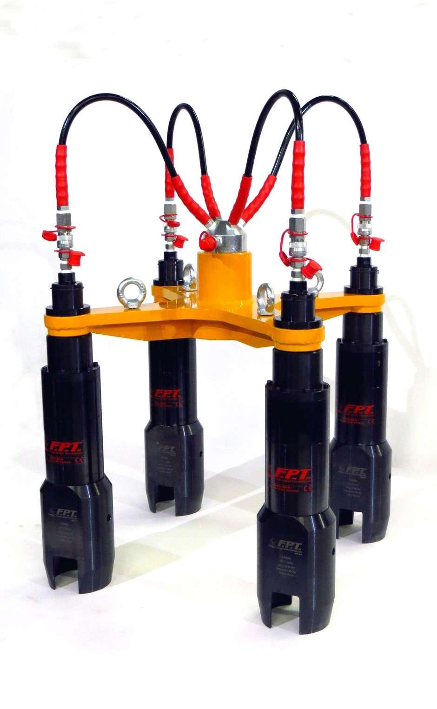 tensionatori idraulici multistadio