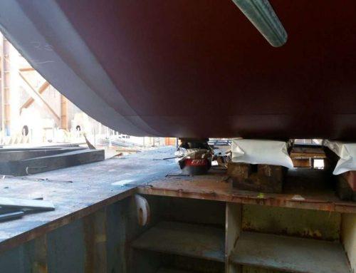 Cilindri di sollevamento per le costruzioni navali