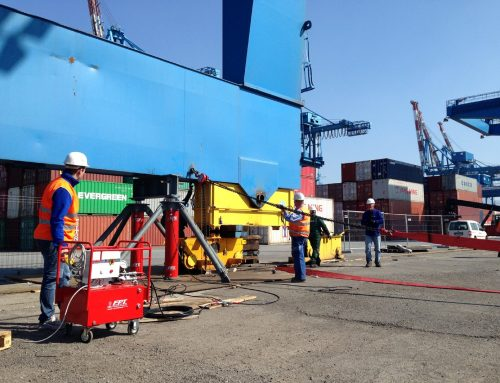 Sollevamento gru da 500 ton