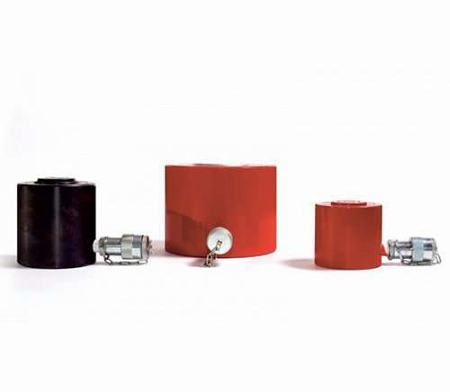 hydraulic cylinders with load return
