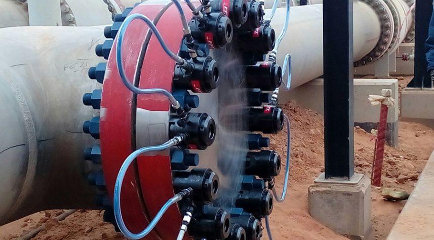 tensionatori idraulici compatti serraggio