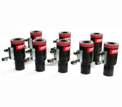 Multi-stage hydraulic tensioners