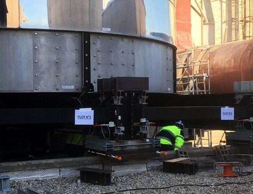 Sollevamento filtro di sicurezza nelle centrali nucleari