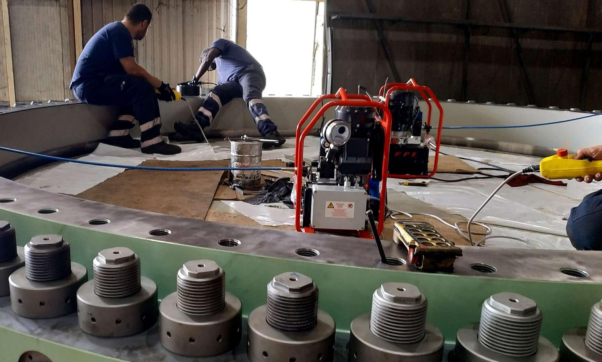 tensionatori idraulici FPT