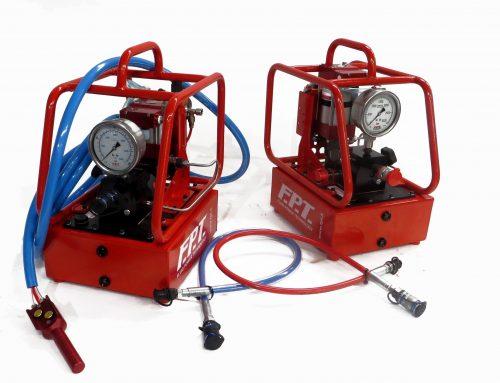 Centralina pneumoidraulica ad altissima pressione