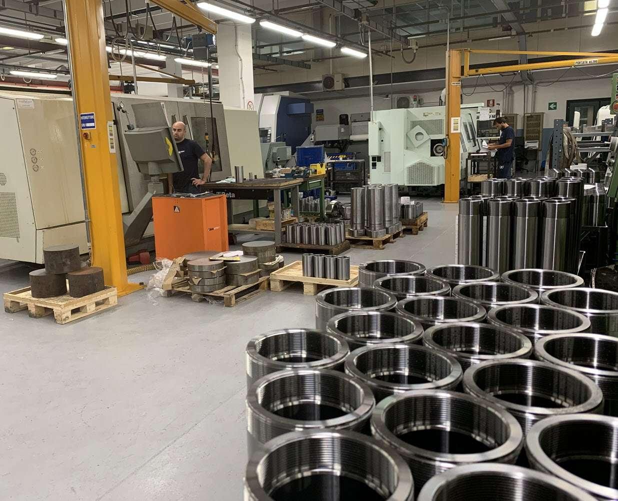 produzione cilindri idraulici