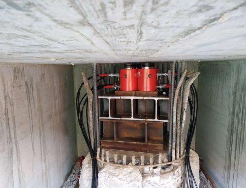 Prove di carico su pali: cilindri e centraline idrauliche