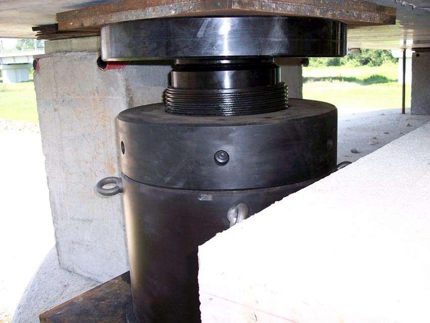 Martinetti idraulici con ghiera di sicurezza Ev