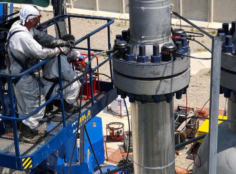 Procedure di serraggio con tensionatori idraulici - Ev
